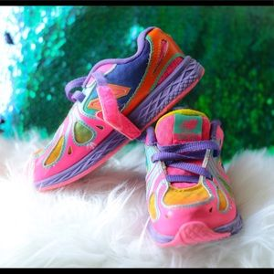 New Balance Pre School Pink/Rainbow
